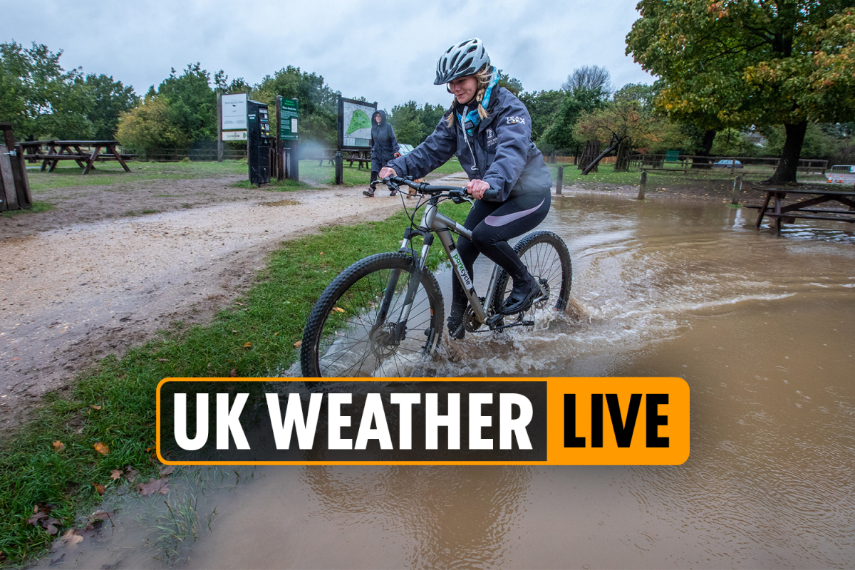 Weather forecast today – 'Worst STILL TO COME' with week-long washout to soak Britain after Storm Alex floods