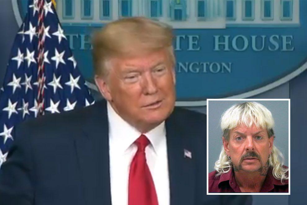 Trump pardons – Joe Exotic's pardon request 'reaches President's desk' after Trump vowed he'd 'take a look' at case