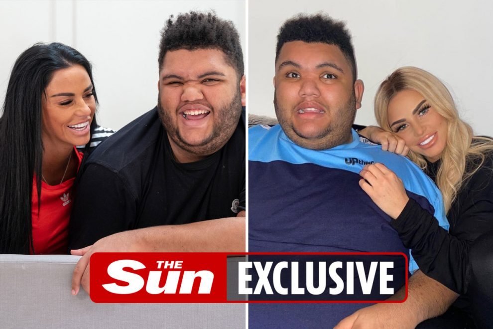 Katie Price's son Harvey is 'now under 28st' and on new diet after fears he'd 'die if he didn't lose weight'