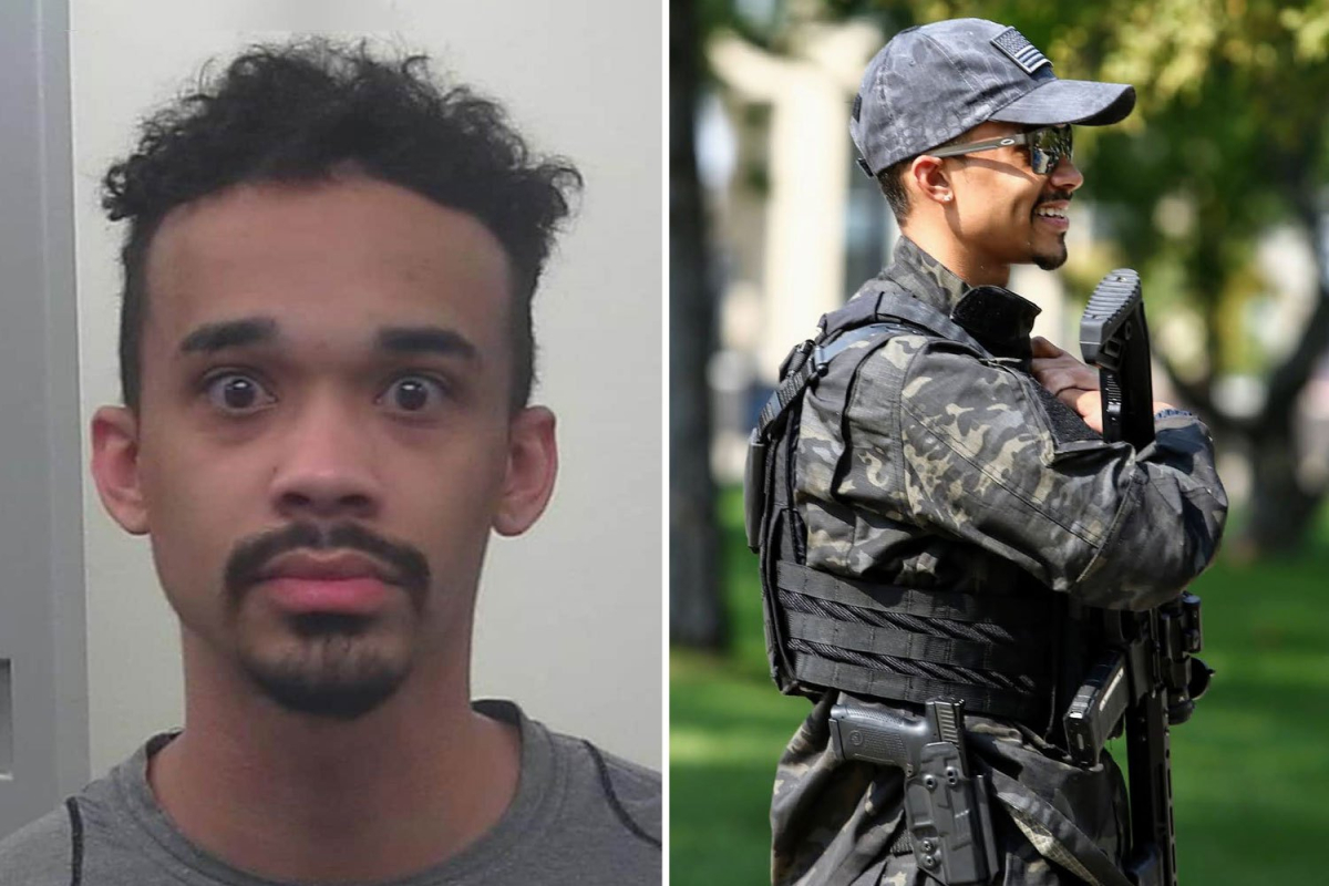 Left-wing BLM activist at Capitol riot ARRESTED after claiming he was just there to 'document' deadly siege