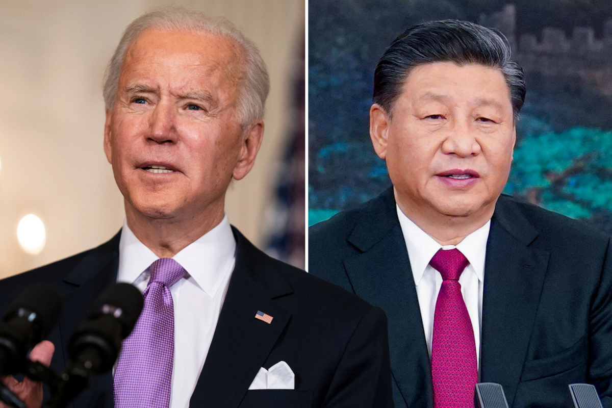 Biden speaks with China's Xi Jinping for the first time since taking office and presses 'human rights and security'
