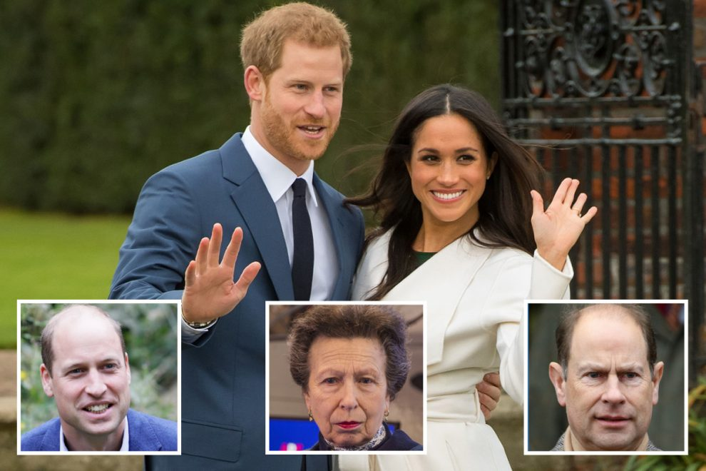 The Queen 'decided long ago' which royals she will give Prince Harry and Meghan Markle's titles to 'BEFORE they quit'