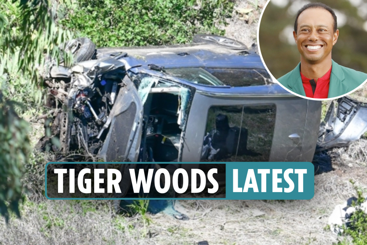 Tiger Woods car crash latest news LIVE: Obama sends 'prayers' as cops say golf superstar won't face charges