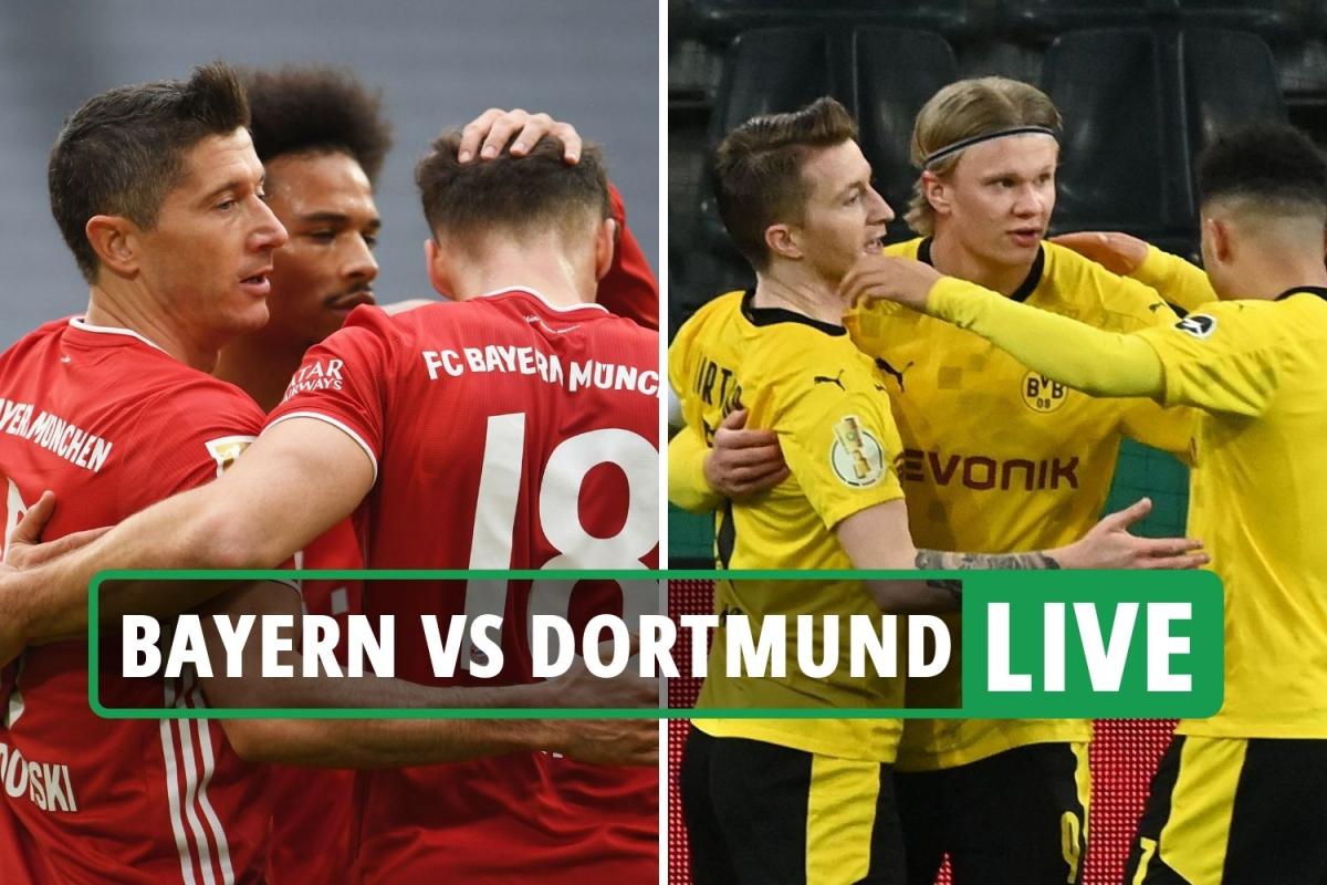 Bayern Munich vs Dortmund LIVE: Stream FREE, TV channel, team news as Haaland STARTS – Bundesliga latest updates