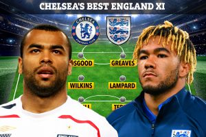 Chelsea's best ever England XI including John Terry, Frank Lampard, Ashley Cole and Reece James