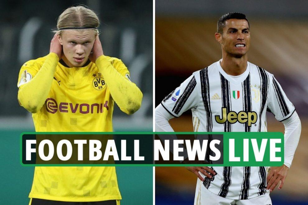 Chelsea suffer Haaland blow, Ronaldo Juventus new deal LATEST, Arsenal, Tottenham, Liverpool transfer news