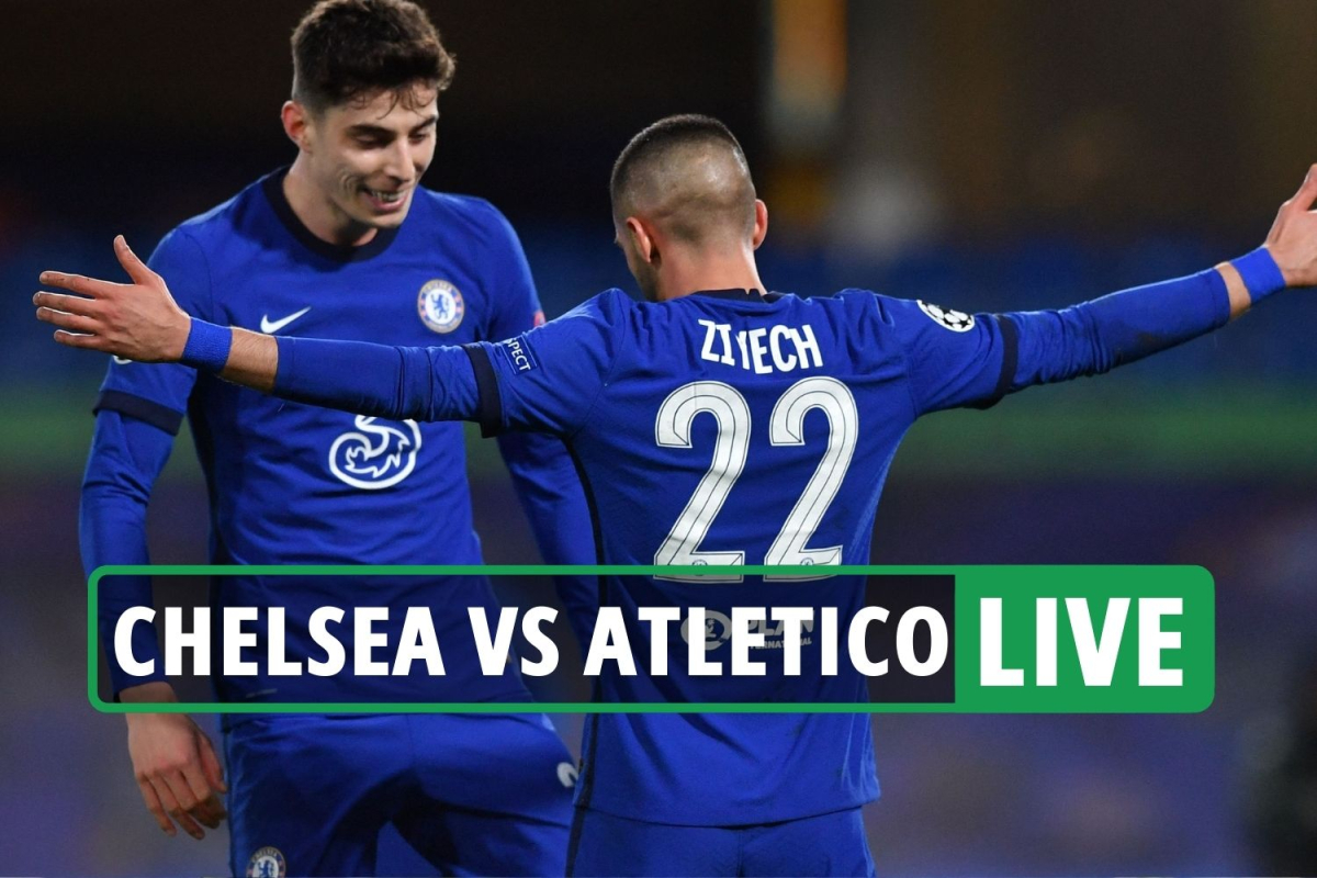 Chelsea vs Atletico Madrid LIVE: Stream FREE, score, TV as Ziyech nets, Savic RED CARD – Champions League latest updates