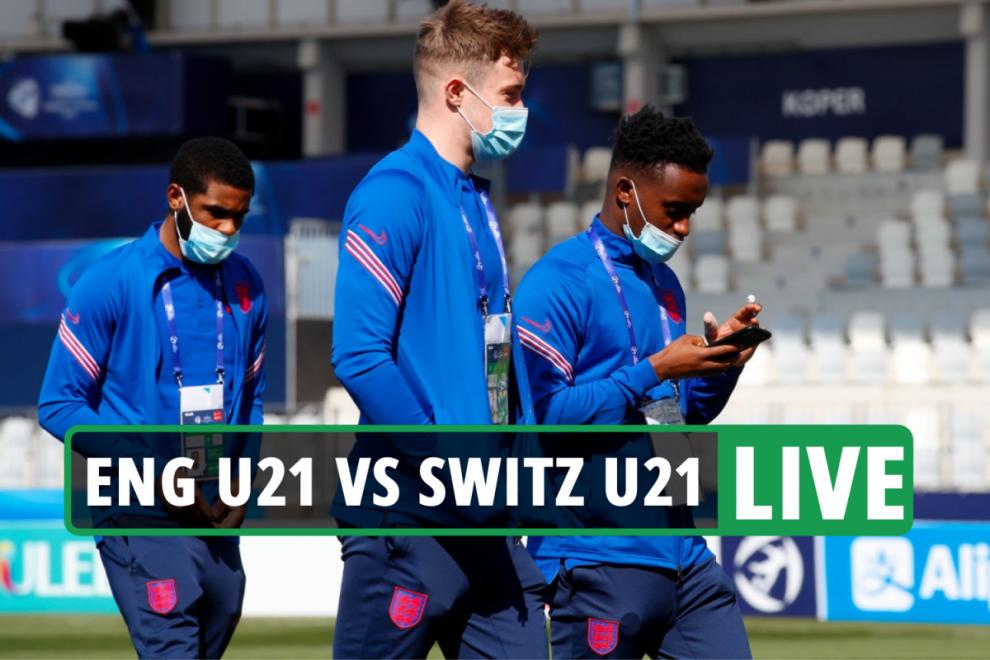 England U21 vs Switzerland U21 LIVE: Stream, TV channel, score as Euro clash UNDERWAY in Slovenia – latest updates