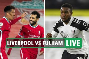 Liverpool vs Fulham: Live stream, TV channel, kick-off time and team news for TODAY'S Premier League clash at Anfield