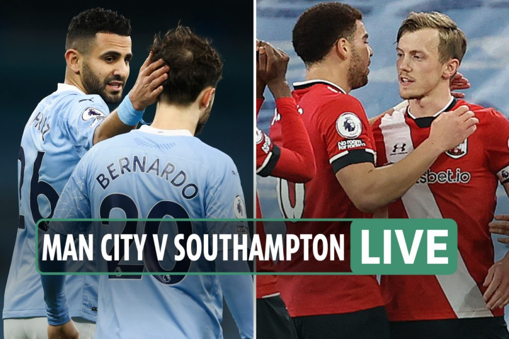 Man City vs Southampton LIVE SCORE: Stream, TV channel, teams as Mahrez and Gundogan notch – latest updates