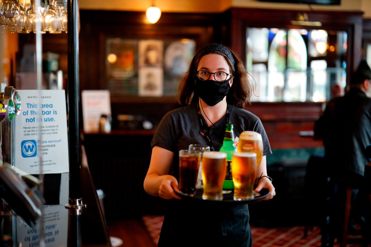 Pubs could ask punters for blood tests to prove they are Covid immune to get pint