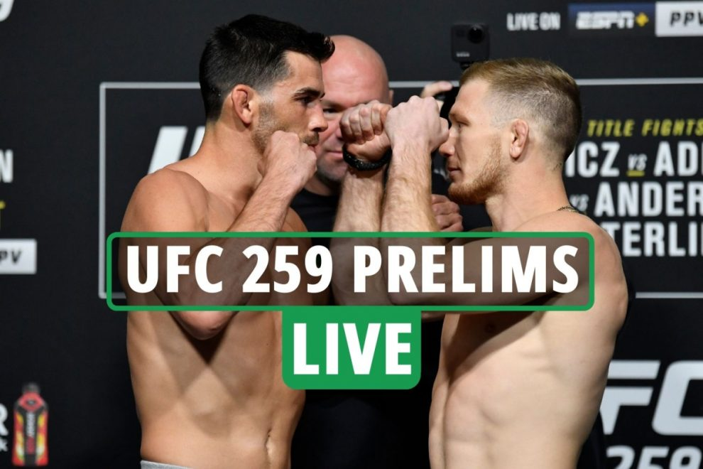 UFC 259 LIVE RESULTS: Stream FREE, TV channel, main card UNDERWAY ahead of Adesanya vs Blachowicz – latest updates