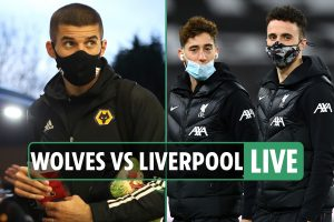 Wolves vs Liverpool LIVE: Stream, TV channel, team news as Jota plays, Reds unchanged – Premier League latest updates