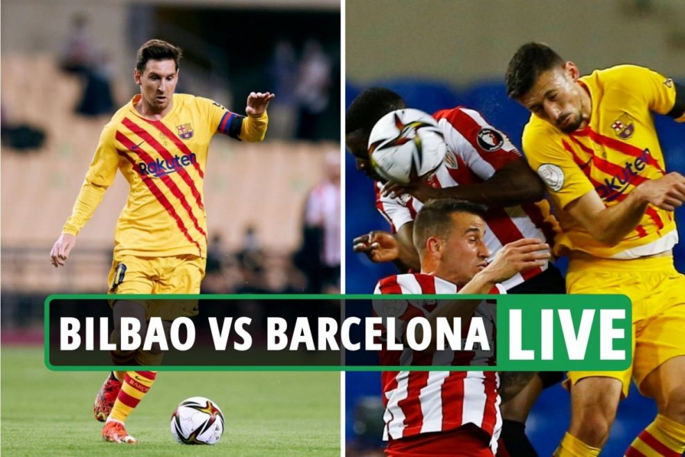Athletic Bilbao 0-0 Barcelona LIVE SCORE: Stream, TV channel for massive Copa Del Rey final – latest updates