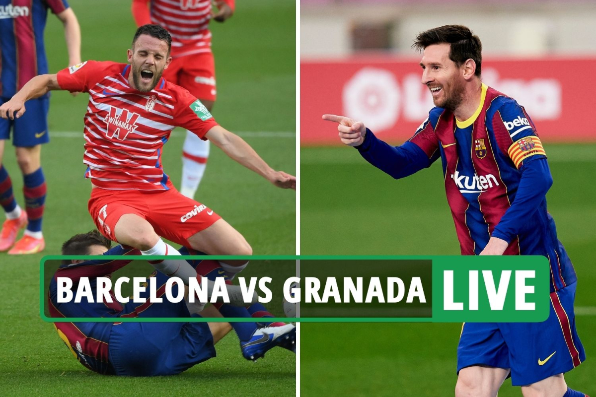 Barcelona vs Granada LIVE: Stream, TV channel, score – Barca BEHIND despite Messi strike at Nou Camp