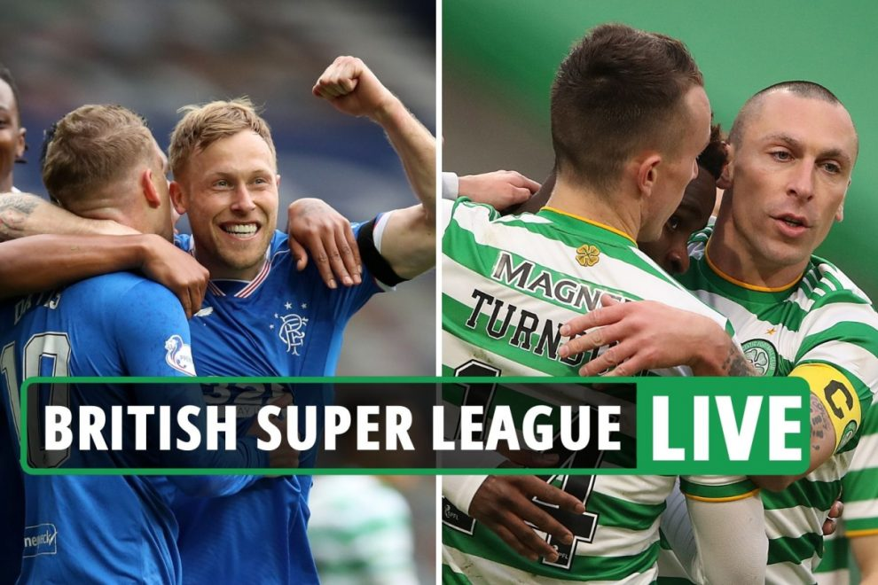 European Super League LIVE: Rangers and Celtic British Super League EXCLUSIVE as Prem hold talks for Old Firm to join