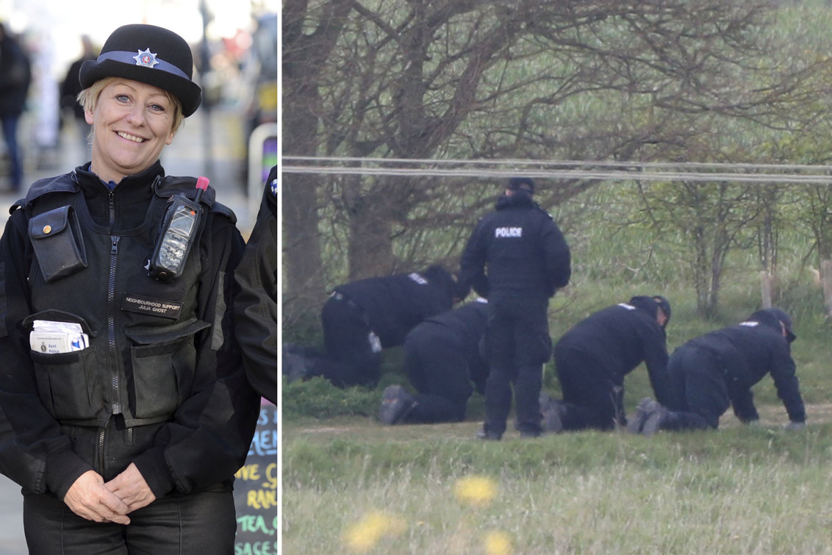 Fears PCSO killer roamed streets for victim after female dog walker accosted by mystery van driver just days before