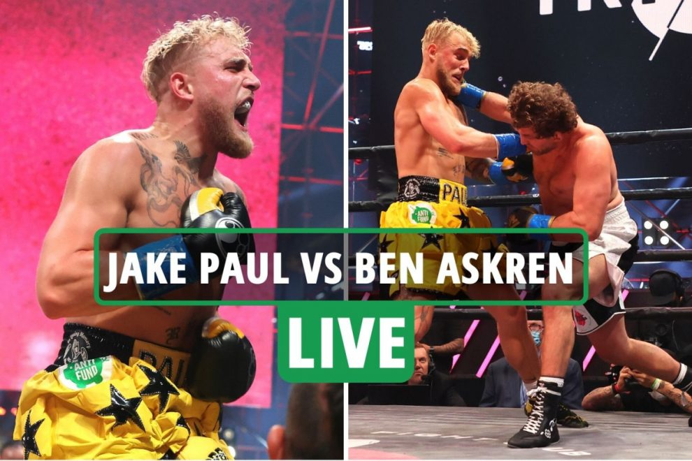 Jake Paul vs Ben Askren LIVE RESULT: Problem Child destroys rival with KO in less than a MINUTE – latest reaction