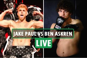 Jake Paul vs Ben Askren LIVE: Ring walks UK, stream Fite TV, channel, undercard as YouTube star fights MMA ace
