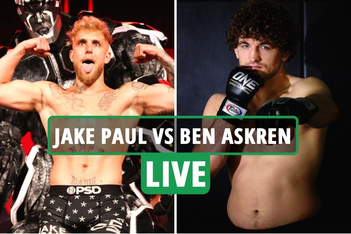 Jake Paul vs Ben Askren LIVE: Ring walks UK, stream Fite TV, channel, undercard as YouTube star fights MMA ace