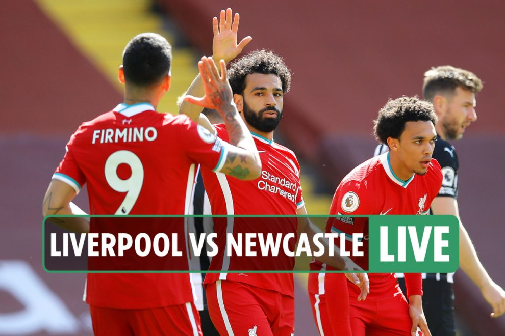 Liverpool vs Newcastle LIVE: Stream FREE, score, TV channel as Reds lead through Salah – Premier League latest updates