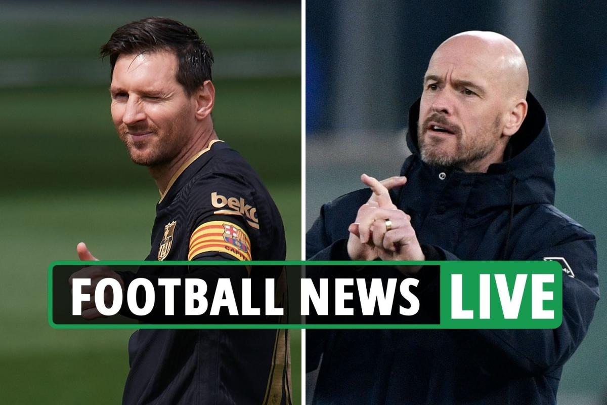 Messi PSG deal latest, Ten Hag favourite for Tottenham job, Stones contract EXCLUSIVE – Chelsea, Man City transfer news