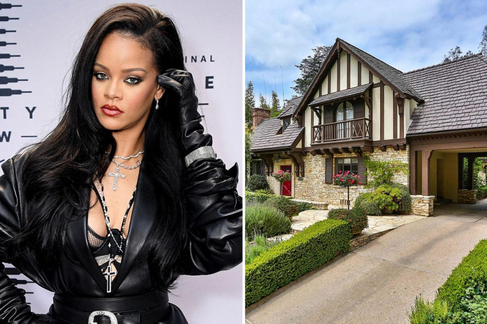 Rihanna drops $10M on new Tudor-style Beverly Hills mansion featuring massive pool and walk-in closet