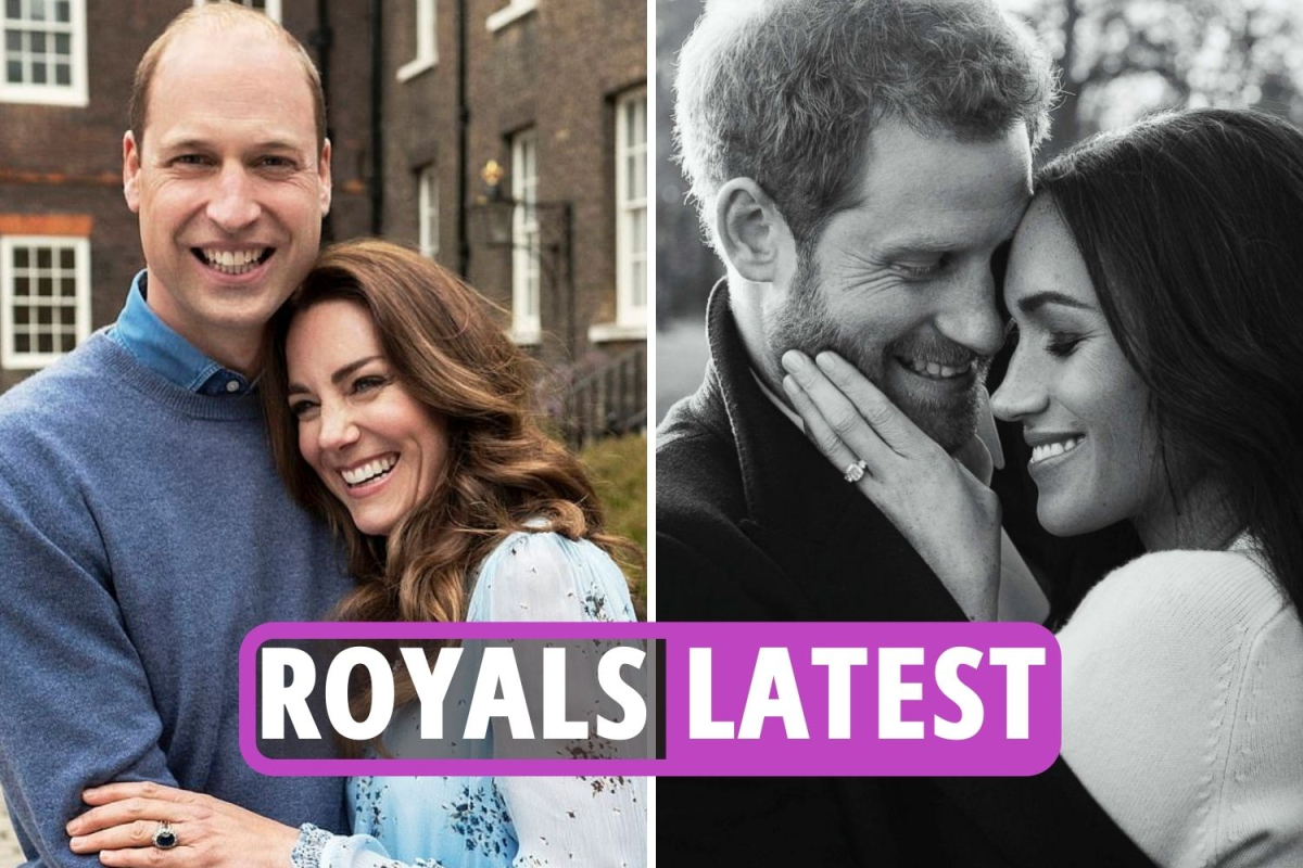 Royal Family latest – Harry & Meghan reach out to Kate & William to 'privately congratulate' them on wedding anniversary