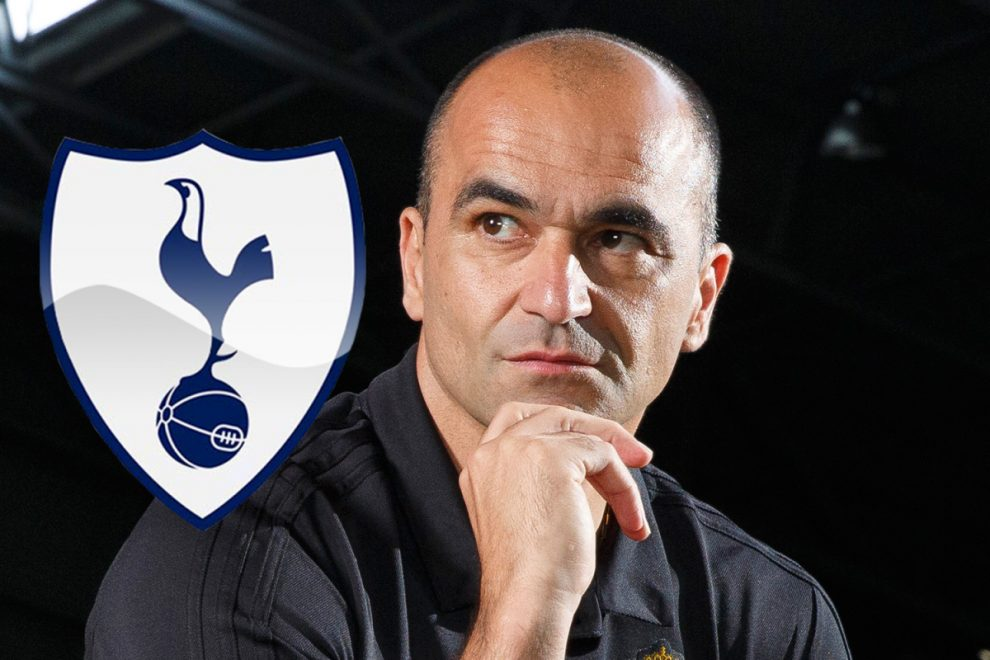 Tottenham linked with Roberto Martinez as next boss 'with Pini Zahavi to hold talks with Levy over move from Belgium'