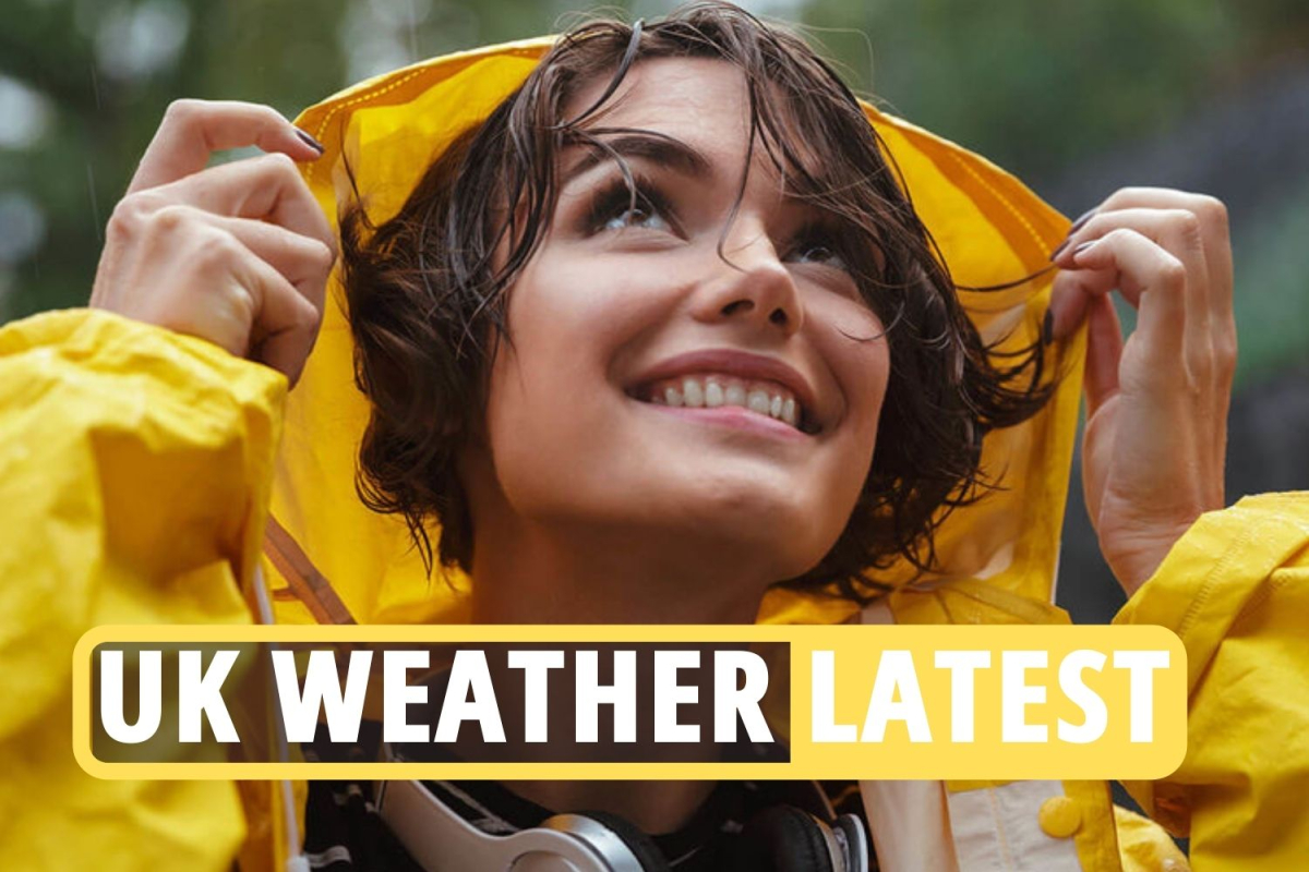 UK weather Bank Holiday forecast – Torrential rain and strong winds will RUIN May Day weekend for millions of Brits