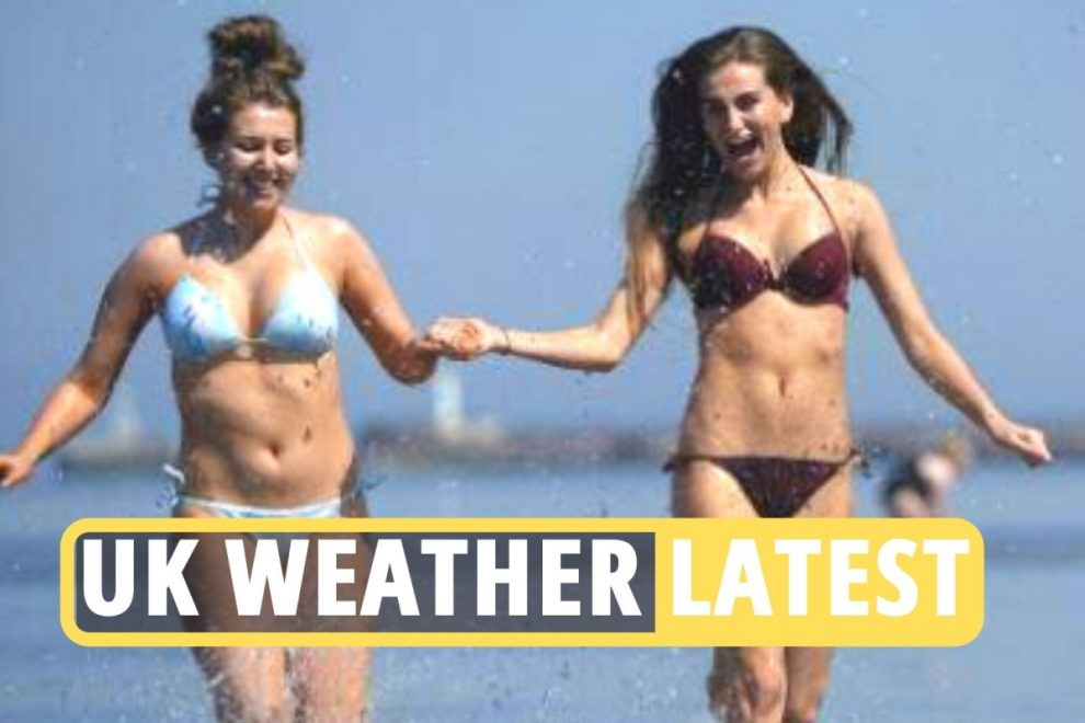 UK weather LIVE – Temperatures soar to 19C today as Brits enjoy mini-heatwave on second weekend of freedom