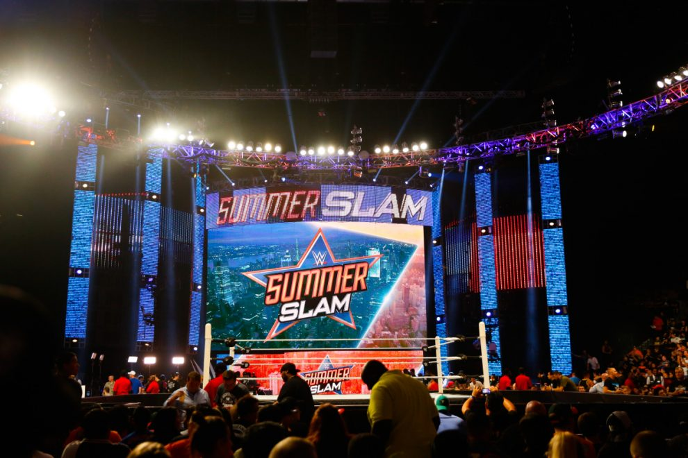 WWE planning to hold SummerSlam in front of live crowd after success of WrestleMania amid coronavirus pandemic