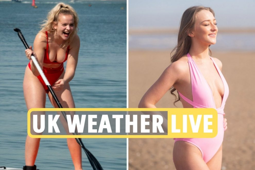 Weather UK forecast – Met Office: Britain to bask in third day of 17C sunshine TOMORROW as April mini-heatwave continues