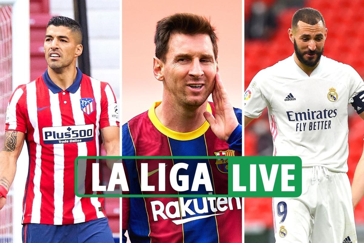 Atletico LOSING to Osasuna, Real Madrid AHEAD at Athletic Bilbao, Barcelona vs Celta – La Liga LIVE RESULTS
