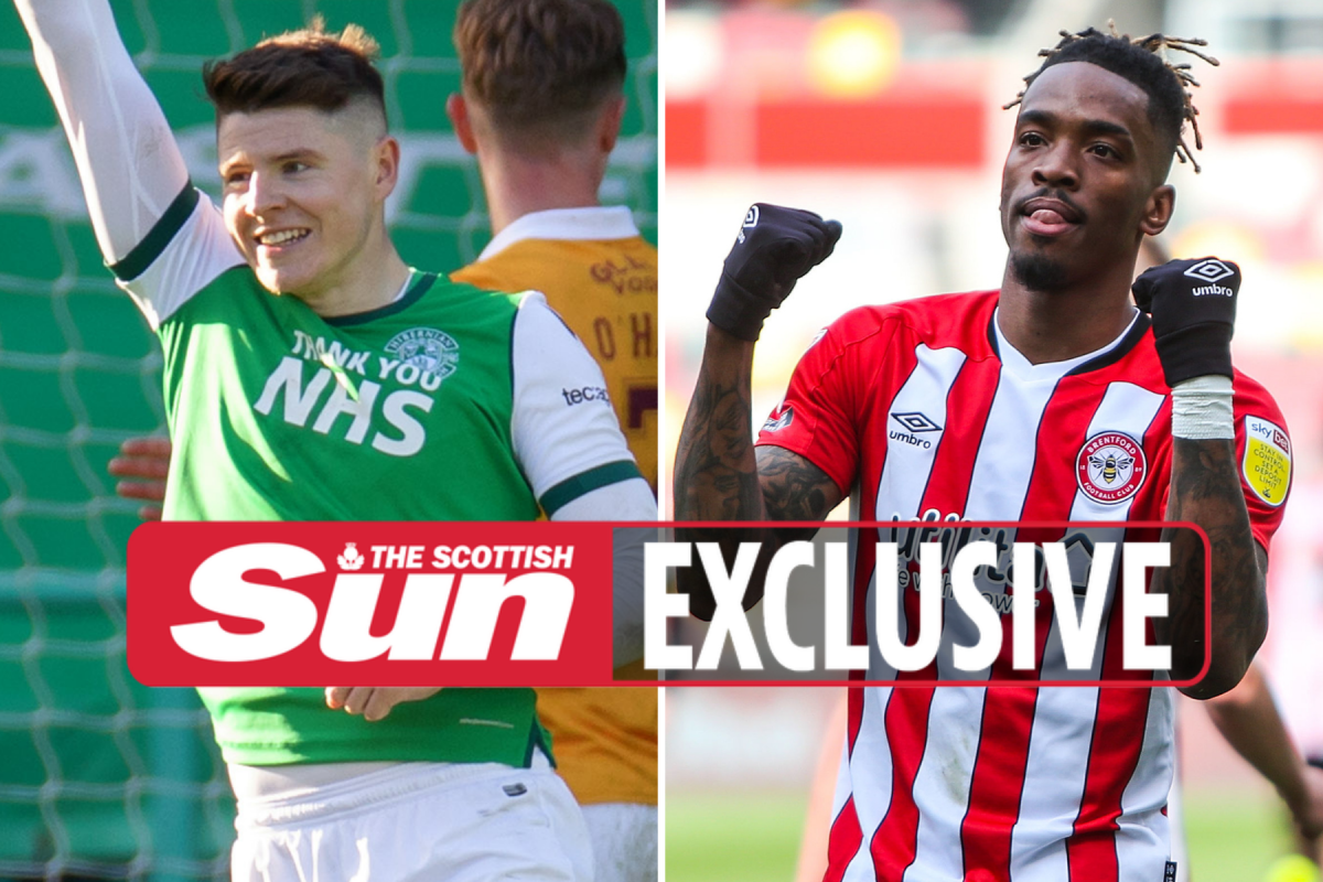 Brentford eye Hibs star Kevin Nisbet as transfer replacement for £35m-rated Ivan Toney
