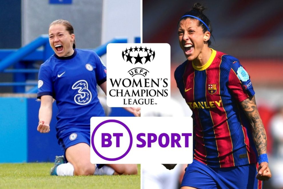 Chelsea vs Barcelona: FREE live stream, TV channel, kick-off time and team news for Women's Champions League final
