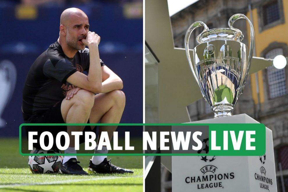 Chelsea vs Man City Champions League final build-up, Konate Liverpool transfer, Pochettino to Tottenham, Zidane LATEST