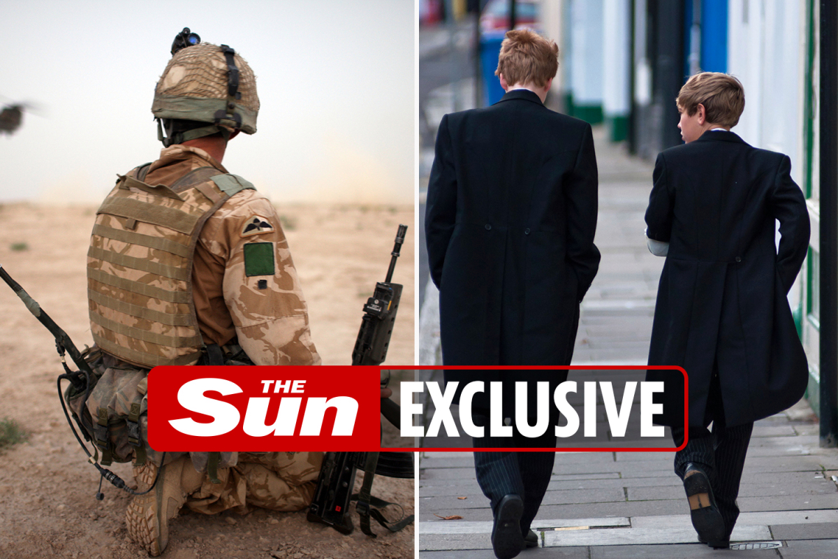 Defence bosses spent £83m last year on private school  for officers' kids but just £78m on soldiers with PTSD
