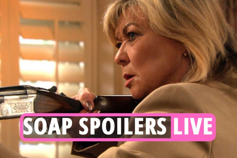 EastEnders, Coronation Street and Emmerdale latest spoilers: Next week sees a shooting, new romance and blackmail shock