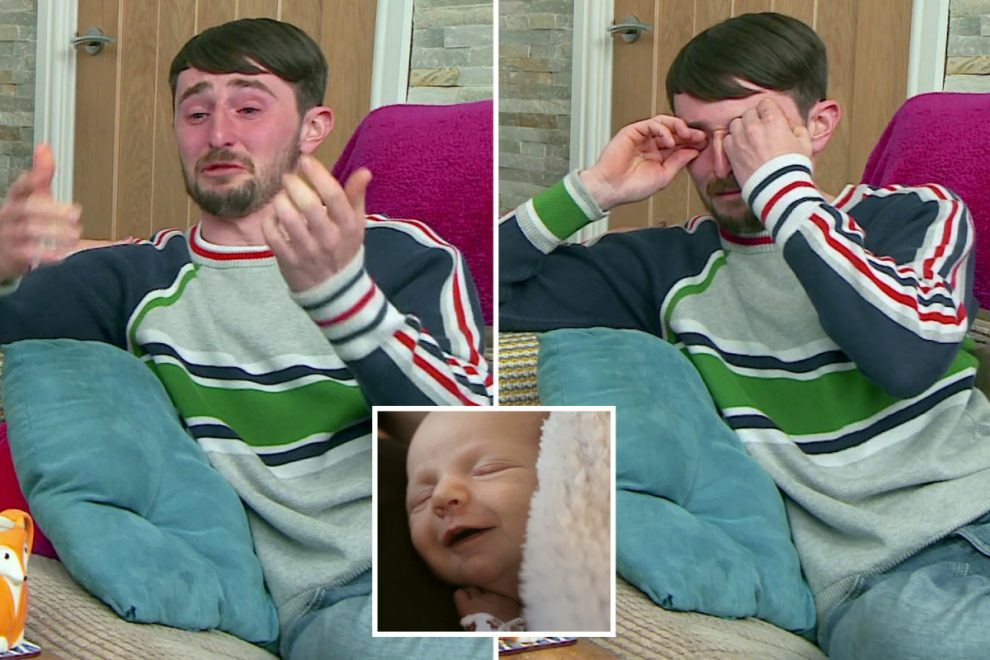 Gogglebox dad-to-be Pete Sandiford in floods of tears after watching heartbreaking moment surgeon saves baby's life