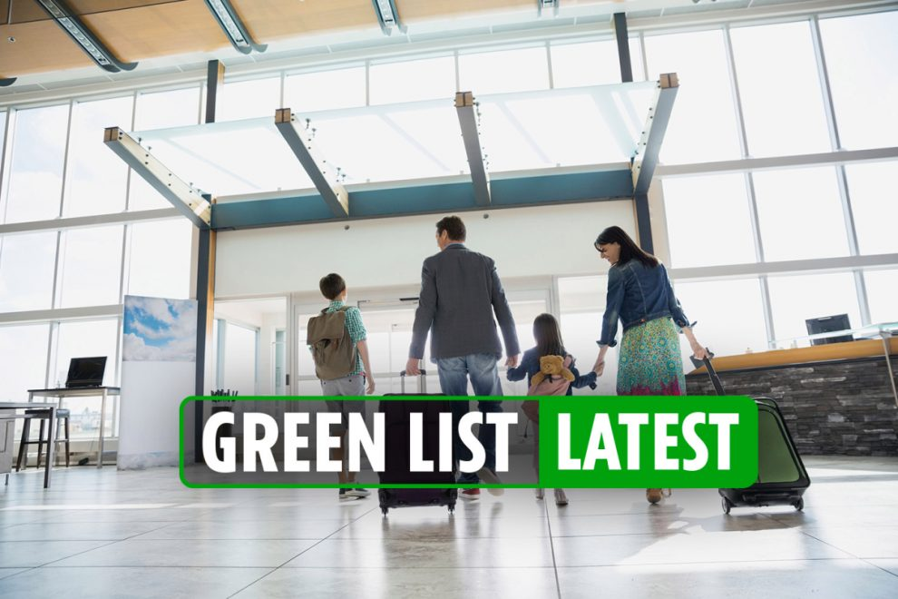 Green List countries LATEST – Airlines rush to add extra flights as Brits eager to get away on holiday with Portugal top