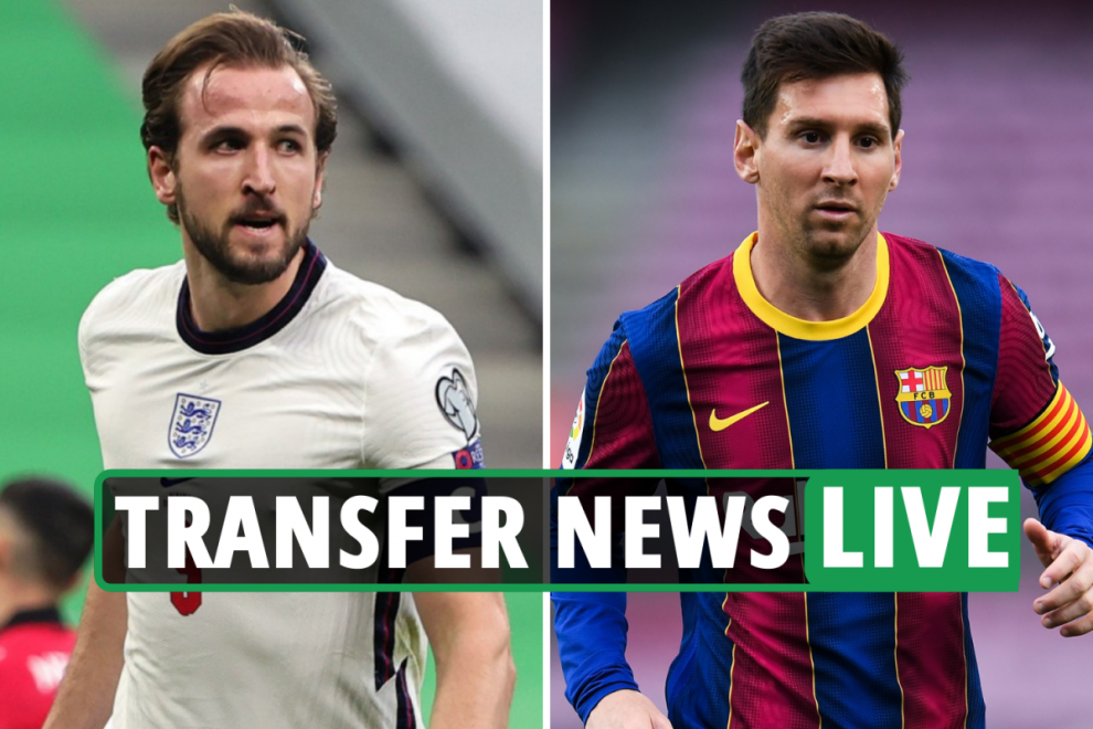 Harry Kane 'wants to leave' Tottenham, Man City back IN for Lionel Messi, Youri Tielemans contract LATEST