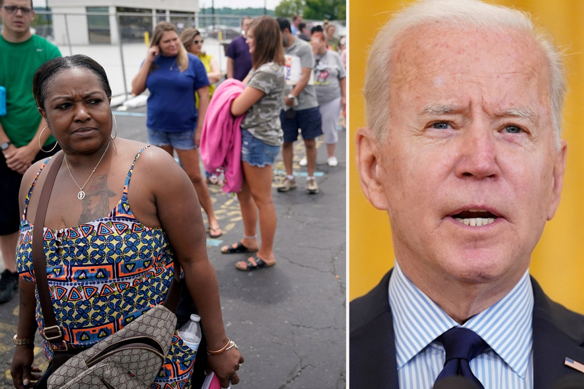 How Biden benefits are stifling economic recovery as average weekly unemployment payments nearly DOUBLE in two years