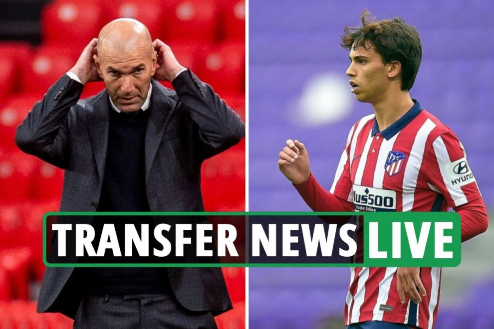Joao Felix transfer bid rejected by Atletico, Zidane QUITS Real Madrid, Conte leaves Inter Milan, Chelsea latest news