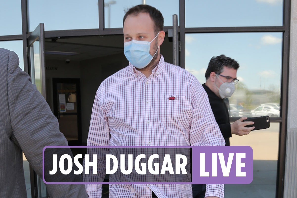 Josh Duggar hearing latest – Anna Duggar 'in denial' after husband arrested accused of possessing child porn