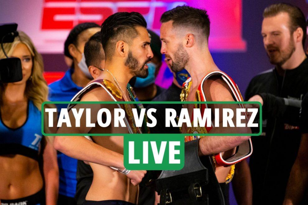 Josh Taylor vs Jose Ramirez LIVE RESULTS: UK time, live stream, TV channel and undercard – latest fight updates
