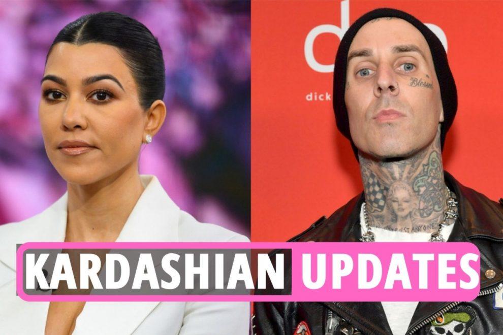 Kardashians latest – Kourtney's Travis Barker obsession SHOCKS family as KUWTK star tattoos 'I love you' on his arm