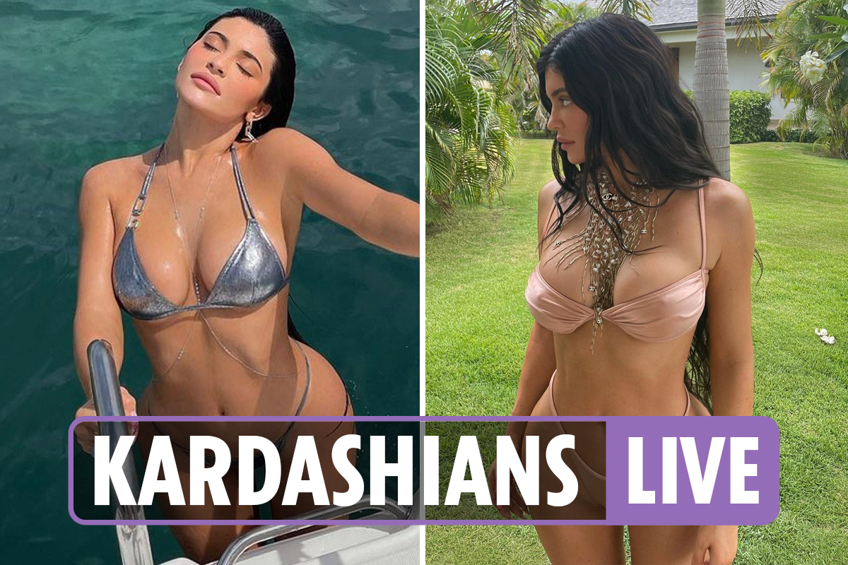 Kardashians latest – Kylie Jenner 'set to launch her own swimwear line' after posting sexy bikini snaps from vacation