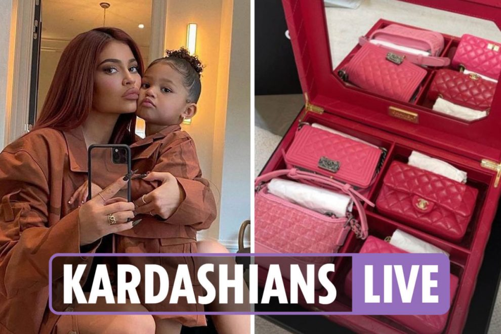 Kardashians latest – Kylie shows off diamond Prada purse & FIVE Chanel bags after fans slam her for 'flaunting wealth'