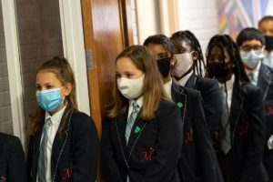 Let schools ditch face masks in classroom on May 17 and don't 'pander' to teaching unions, Boris warned